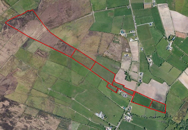 Lands at Drum Road, Gortnaghey, Dungiven, County Londonderry, BT47 4PU